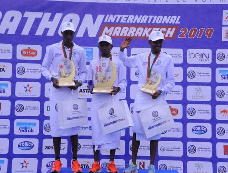 L'Ethiopie s'illustre à la  30ème édition du Marathon international de Marrakech