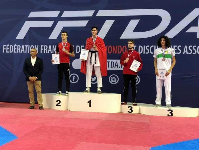 Taekwondo - 14e Open International de France : Youssef Bouatris (-73 kg) décroche l'or